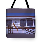 Converted Tugboat Cabin   Canal Park  Duluth Minnesota Tote Bag