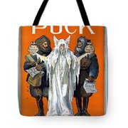 Cook And Peary, 1909 Tote Bag
