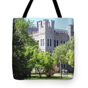 Cook Hall Illinois State Univerisity Tote Bag