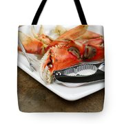 Cooked Crab Ready To Eat  Tote Bag