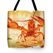 Cooked Lobster On Parchment Paper Tote Bag