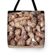 Cooked Taro Root Tote Bag