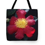 Cookie Cutter Camellia Tote Bag