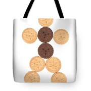 Cookie Man Tote Bag