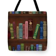 Cookin' The Books Tote Bag
