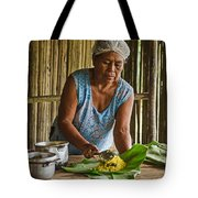 Cooking For Guests Tote Bag