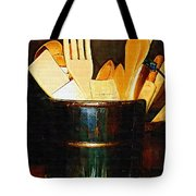 Cooking Retro Tote Bag