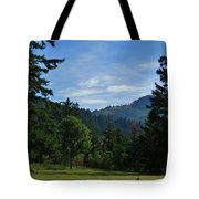 View Of Underwood Mountain Tote Bag