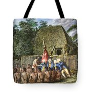 Cook:sandwich Islands 1779 Tote Bag