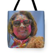 Cool Colors Tote Bag