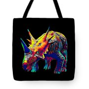 Cool Dinosaur Color Designed Creature Tote Bag