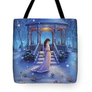 Cool Down - Crocus Tote Bag