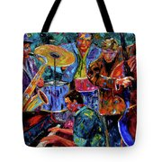 Cool Jazz Tote Bag