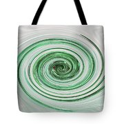 Cool Mint Whip Tote Bag