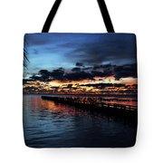 Cool Morning Rise  Tote Bag