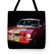 Cool Mustang Tote Bag