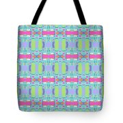 Cool Plaid No. 5 Tote Bag