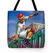 Cool Skater Tote Bag