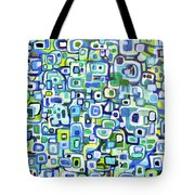 Cool Squares And Shapes Tote Bag