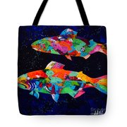 Cool Waters Tote Bag by Tracy Miller