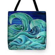 Cool Waves 3-  Tote Bag