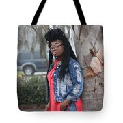 Cool With Braids 5 Tote Bag
