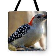 Cool, Woodpeckers Like Sunflower Seeds Tote Bag