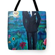 Cooler By The Lake/male Tote Bag