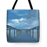 Cooling Sunset Tote Bag