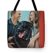 Cooper The Scottie Tote Bag
