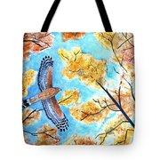 Cooper's In Autumn Tote Bag
