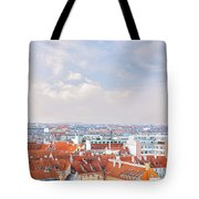 Copenhagen City Denmark Tote Bag