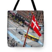 Copenhagen Downtown Traffic Tote Bag