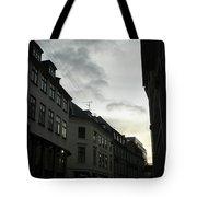 Copenhagen Facades In Shades Of Grey Tote Bag