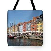 Copenhagen Harbor Tote Bag