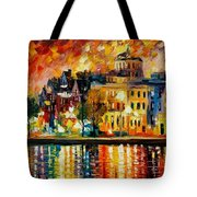 Copenhagen Original Oil Painting  Tote Bag
