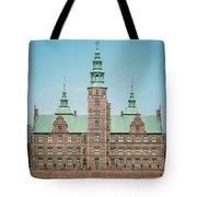 Copenhagen Rosenborg Castle Back Facade Tote Bag