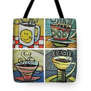 Copious Amounts Of Coffee Tote Bag