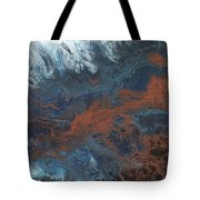 Copper Abstract 2 Tote Bag