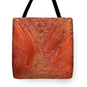 Copper Abstract Tote Bag