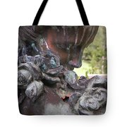 Copper Angel Tote Bag