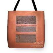 Copper Clad Number Three Tote Bag