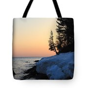 Copper Country Spring Sunrise Tote Bag