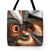 Copper Dreams Abstract Tote Bag