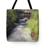 Copper Falls State Park Wisconsin. Tote Bag