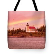 Copper Harbor Lighthouse Tote Bag