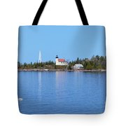 Copper Harbor Lighthouse Tote Bag