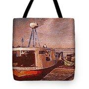 Copper Harbor Waterfront Tote Bag