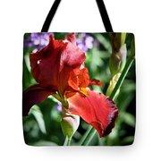 Copper Iris Squared 1 Tote Bag