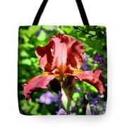 Copper Iris Squared 5 Tote Bag